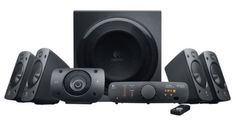 Logitech Z906 Surround Sound Speakers sold by Amazon this sounds good on the PS4 & YOUTUBE