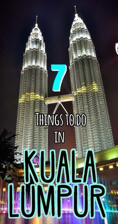 Kuala Lumpur is the capital city of Malaysia and one of the most culturally diverse cities in Southeast Asia. Check out our favourite things to do in this vibrant city   Ravenous Travellers Travel Blog