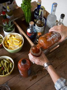 Bloody Mary Brunch #gameday | Camille Styles