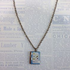 All The Bright Places by Jennifer Niven Book Locket Necklace