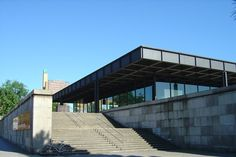 Mies van der Rohe's Neue Nationalgalerie in Berlin