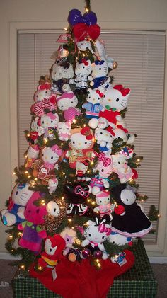 6383ce0c2ceba Hello Kitty Christmas Trees- This is my dream Christmas tree!