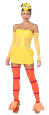 The most flirty and hottest Halloween costumes  - The Sexy Big Bird