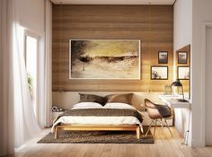 This is Small Bedroom And Study Table Design. Newest bedroom design New Trends Trendy And Spacious BedRoom Designs. Design of Bedroom Designs Small Bedroom Designs, Modern Bedroom Design, Master Bedroom Design, Master Bedrooms, Condo Bedroom, Home Decor Bedroom, Bedroom Ideas, Study Table Designs, Small Room Decor