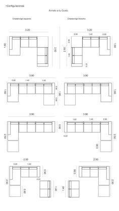 Medidas de sofa pesquisa google ergonomia em 2018 for Sofa 4 meter