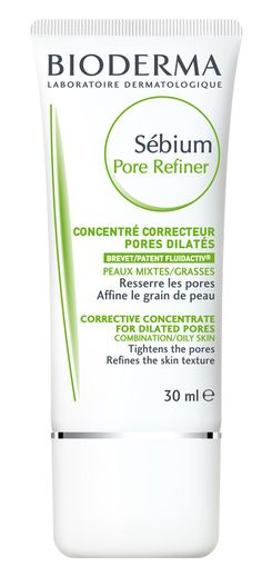 Buy the Corrective Care For Enlarged Pores Bioderma Sebium Pore Refiner, online! For Skin with blemishes. Dilated Pores, Acne Rosacea, Tighten Pores, Shrink Pores, Minimize Pores, Tips Belleza, Oils For Skin, Oily Skin, Vanities