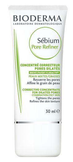 Sébium Pore Refiner - CN 156140.4 - Afinador de poros dermatológico que reduce el tamaño del poro dilatado, previene la aparición de imperfecciones, hidrata, afina la textura de la piel y matifica. Contiene Fluidactiv®.   Es una excelente pre-base de maquillaje.