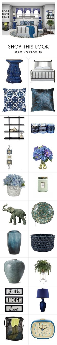 """""""I Wanna Wake Up Where You Are"""" by taylornicolebrookebalser ❤ liked on Polyvore featuring interior, interiors, interior design, home, home decor, interior decorating, Ethan Allen, Threshold, Pier 1 Imports and Diane James"""