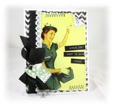 Feminine Cards with Teresa Kline   Glitz Design, cashmere dame