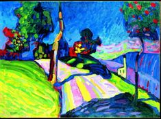 "I love Kandinsky! Lucky as I was the Louisiana museum of modern art held an an exhibition in 2010 named ""The Color of Art."" Befor I saw this exhib, I thought I only liked Kandinsky&#821…"