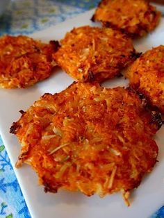 Sweet Potato Parmesan Crisps