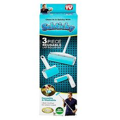 It really does work, and it is very easy to clean. Roller Set, Shopping Sites, Cleaning, Make It Yourself, 3 Piece, Easy, Home Cleaning