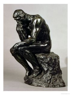 The Thinker, Le Penseur, by Rodin