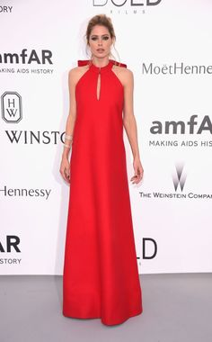 Doutzen Kroes. See what all the stars wore at the Cannes amfAR gala.