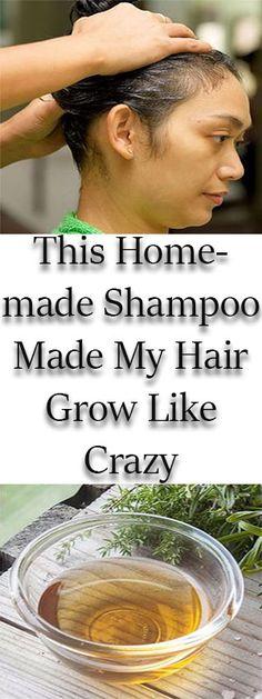 This Homemade Shampoo Made My Hair Grow Like Crazy - MyHealthWall