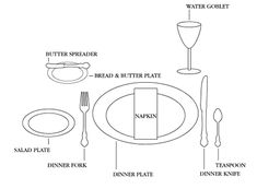 Formal Setting Of A Table toast and tables: disappearing act: in this casual world, is