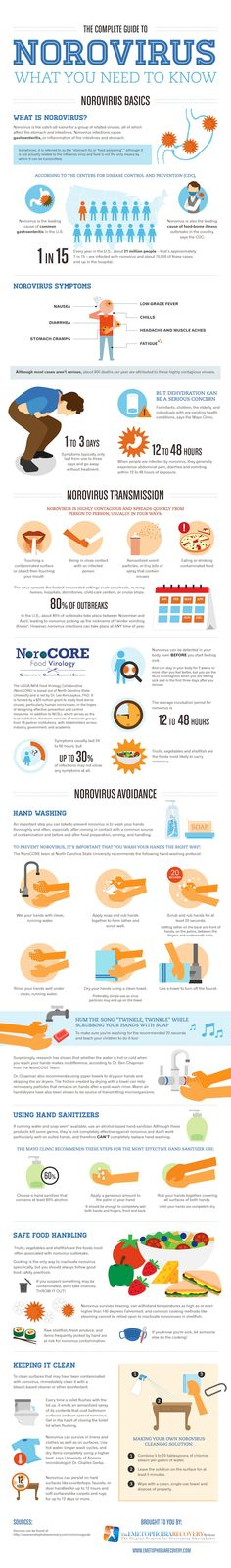The Complete Guide to Norovirus Prevention and Treatment [INFOGRAPHIC]