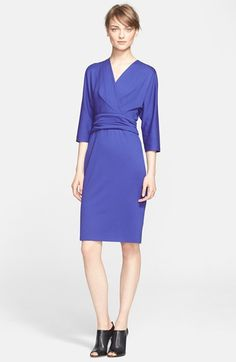 NAS: ESCADA 'Dondi' Jersey Dress (Nordstrom Exclusive) available at #Nordstrom