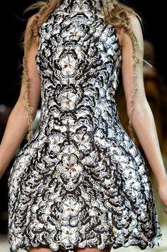 Alexander McQueen, butterfly wings dress.