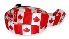 Aus der Kategorie Leinen  gibt es, zum Preis von   PatriaPet leads are made of very strong polyester material - the same material that automobile seat belts are made of. The Canadian colors are infused directly into the fabric allowing the brilliant, colorfast designs to last for years. We use only heavy duty snap-hooks making a secure, fun dog Lead that will proudly show off your pet's origin, your own background, a country that you admire or simply a cool design.