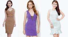 Đầm công sở sát nách ôm body giá rẻ và thời trang
