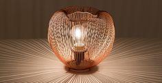 "Pom 10"" Copper Lamp - Lighting - Article | Modern, Mid-Century and Scandinavian Furniture"