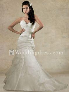Strapless Sweetheart Mermaid Wedding Dresses