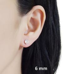Details◆Swarovski Crystal Color:Clear◆Size of Crystals:① 8 mm ( 1/3 inches) ②6 mm ( 1/4 inches) ③ 4 mm ( 1/6 inches )◆Weight: 1 g (0.035 oz) Don't you want to wear minimalist style clip on earrings for school and office every day? Here is sparkly 8 mm and 6 mm Clear Swarovski crystal invisible clip on earrings. If Minimalist Style, Minimalist Fashion, Clip On Earrings, Stud Earrings, 6 Inches, Swarovski Crystals, Studs, Detail, School