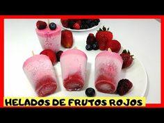 Fruit Ice Cream, Red Fruit, Homemade Ice Cream, Sorbet, Popsicles, Mousse, Yogurt, Panna Cotta, Frozen