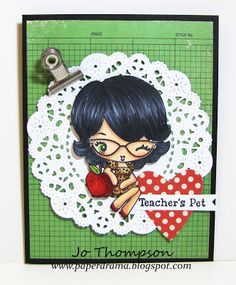Cheeky Lessons/Jo Thompson http://www.paperdrama.blogspot.com/2013/06/tgf-july-preview-cheeky-lessons-heart.html