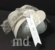 Bridal Luncheon Favors | Stamping Together At Monika's Place