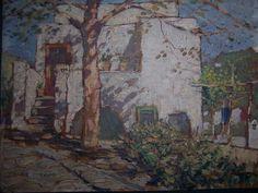 Carlo PERINDANI CAPRI 1934, opera della Piazza di Mercato - Artprice.com