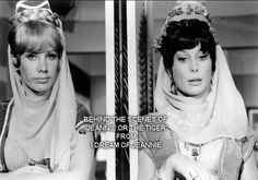 Behind the scenes I dream of Jeanie I Dream Of Jeannie, Classic Tv, Classic Movies, Classic Hollywood, Old Hollywood, Eden Star, Barbara Eden, Pink Costume, Recent Movies