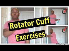 Quick and Easy Rotator Cuff Exercises With Little To No Equipment – MyPhysioSays.com