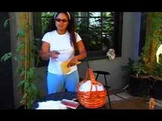 Garden Girl TV: How to Card Angora Fiber for Spinning and Knitting, via YouTube.