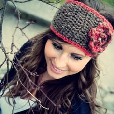 Fun and flirty crochet headbands, perfect for Fall accessorizing!
