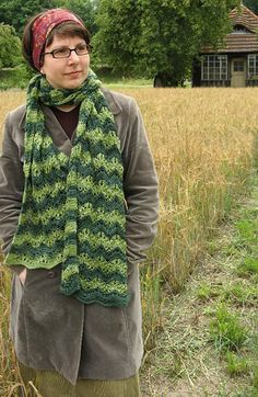 Free Knitting Pattern - Scarves: Anne Shirley Scarf