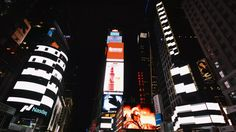 Ryoji Ikeda : test pattern [times square], 2014 on Vimeo