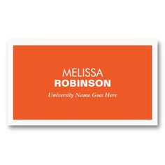 21 Best Business Cards For College And University Students