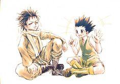 Tags: Anime, Fanart, Hunter x Hunter, Gon Freaks, Pixiv