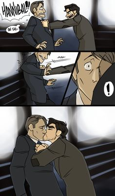 Image about funny in Hannibal NBC by Lauren on We Heart It Hannibal Funny, Nbc Hannibal, Sherlock Holmes, Hannibal Lecter Series, Yuri, Tumblr Gay, Funny Naruto Memes, Will Graham, Hugh Dancy