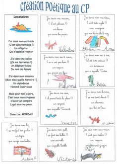 créations poétiques French Classroom, A Classroom, French Teacher, Teaching French, French Education, Core French, French Resources, French Language, Back To School