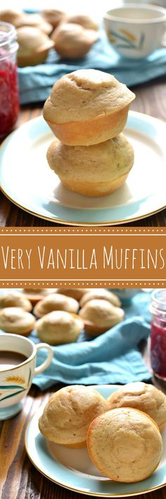 These Very Vanilla Muffins are loaded with delicious vanilla flavor and lightened up with Truvia®. Perfect for breakfast or snack...and they couldn't be easier to make!