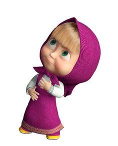 Cartoon Girl Images, Cute Cartoon Girl, Masha And The Bear, Cute Disney Wallpaper, 3d Character, Disney Cartoons, Flower Wallpaper, Girls Image, Cute Dolls