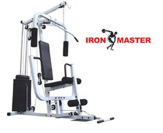 Ironmaster Multi Gym Ironmaster 150lb With Seated Row High quality 150lb home gym with seated row feature from Ironmaster http://www.comparestoreprices.co.uk/keep-fit/ironmaster-multi-gym-ironmaster-150lb-with-seated-row.asp