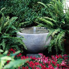 Outdoor fountains are a great addition to any landscape. Find ideas here for what style, size, and design of fountain would work best in your landscape.