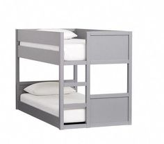 Bunk Beds Small Room, Low Bunk Beds, Girls Bunk Beds, Modern Bunk Beds, Bunk Beds With Stairs, Kid Beds, Small Rooms, Bed Rooms, Loft Spaces