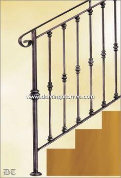 Baranda de escalera buscar con google escaleras - Escaleras de hierro forjado ...
