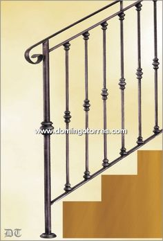 Decorative wrought iron railing wrought iron railings for Modelos de gradas
