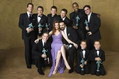 Desperate Housewives:Marcia Cross aka Bree and most of the men of Wisteria Lane